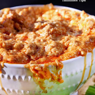 Crock Pot Buffalo Chicken Dip.