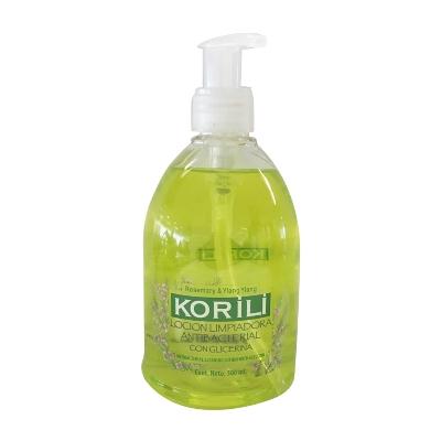 jabon liquido korili antibacterial rosemary 500 ml