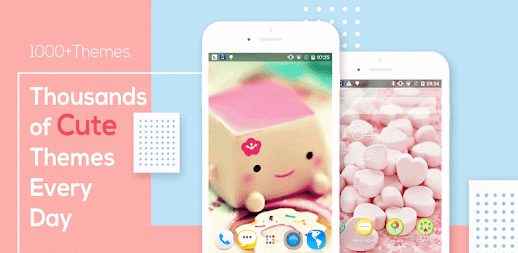Cute Bear love  honey with Pink hearts DIY Theme APK