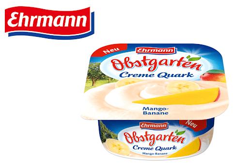 Bild für Cashback-Angebot: Obstgarten CremeQuark Mango-Banane