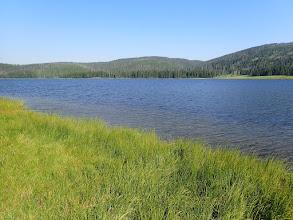 Photo: Grebe Lake in Yellowstone National Park