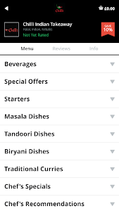 Chilli Indian Takeaway screenshot 2