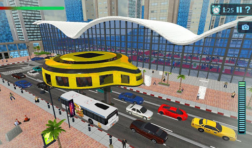 Gyroscopic Transport Bus: City Futuristic Driving for PC