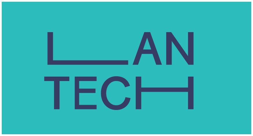 Lantech: logo kleur
