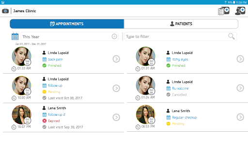 Patient Medical Records & Appointments for Doctors 4.0 screenshots 10