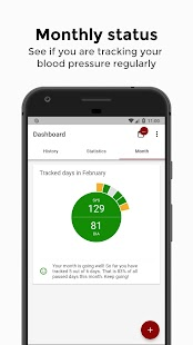 avax Blood Pressure Log - Take your blood pressure Screenshot