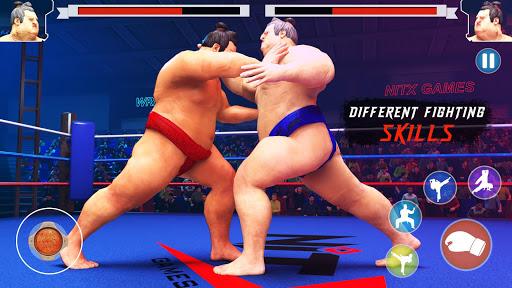 wrestling games sumo fighting 3d free game 1.0 screenshots 2