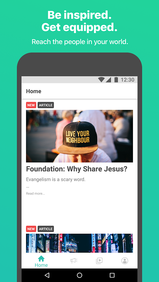 yesHEis: Rethink sharing your faith- screenshot