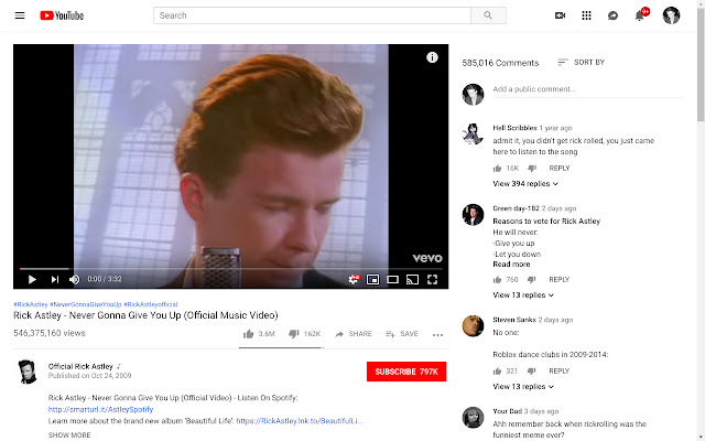 Show YouTube comments while watching