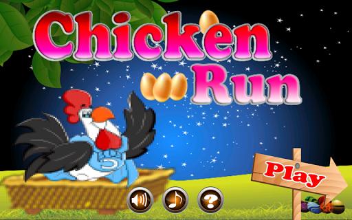 Cute Chicken run Game