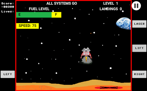 Space Lander  screenshots 3