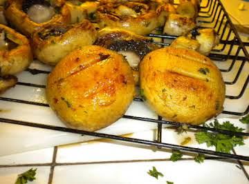 Grilled Mushrooms