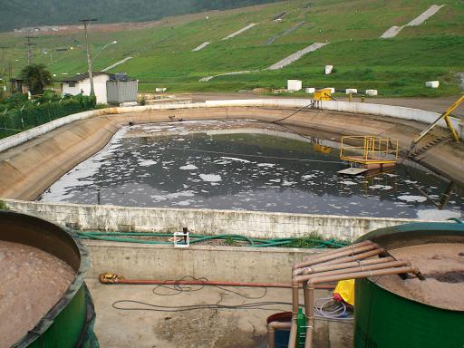 lagoa de chorume