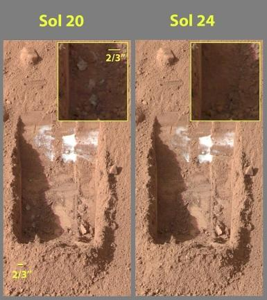 800px-Evaporating_ice_on_Mars_Phoenix_lander_image