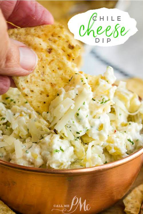 """Quick Chile Cheese Dip """"Quick Chile Cheese Dip is the ultimate party..."""