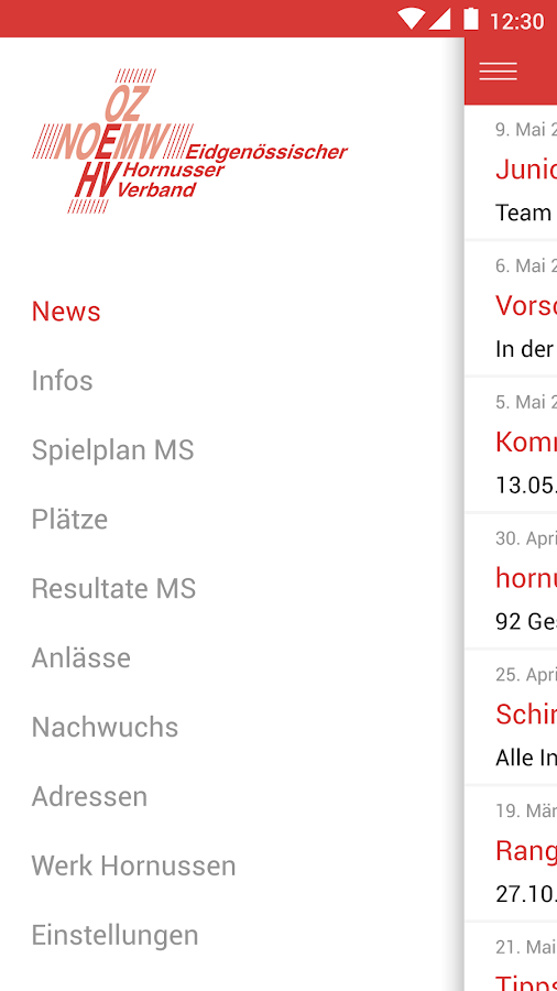 Hornussen – Screenshot