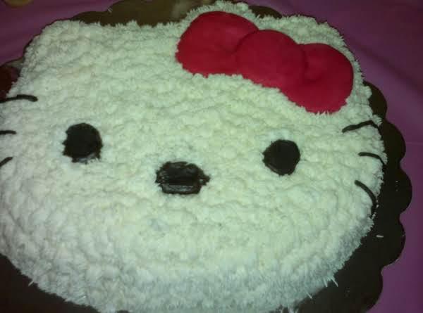 Amaya's Pink Lemonade Hello Kitty Cake