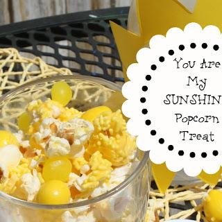 Sunshine Popcorn Mix