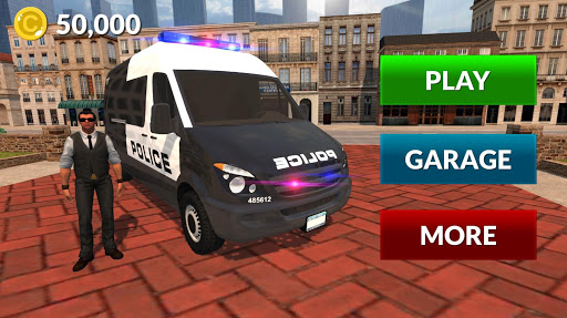 American Police Van Driving: Offline Games No Wifi filehippodl screenshot 4