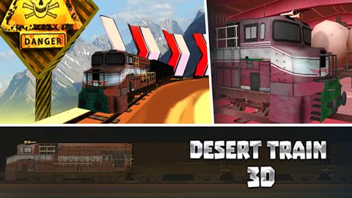 Desert Train 3D