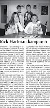 Photo: Rick Hartman wint 29 januari 2009
