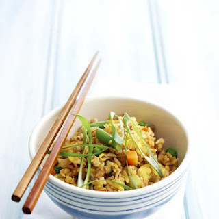 Pork Fried Rice with Vegetables