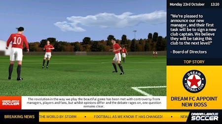 Dream League Soccer 2018 APK screenshot thumbnail 3