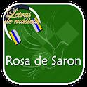 Rosa de Saron Letras icon