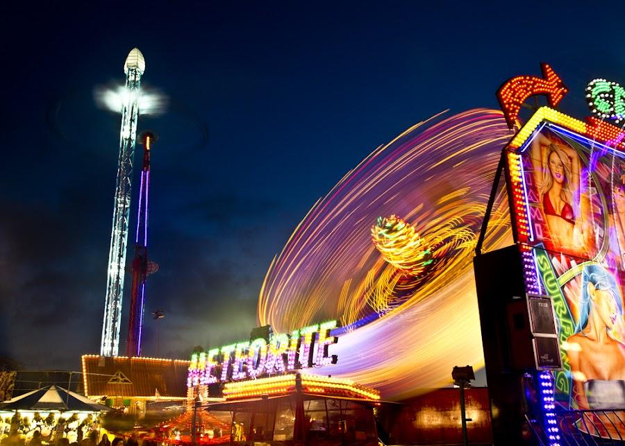 METEORITE IMPACT by Keith Britton - City,  Street & Park  Amusement Parks