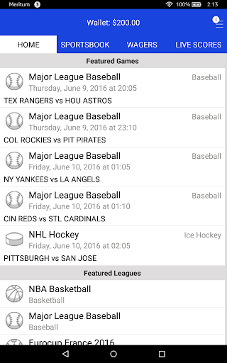Sports Bettingu2122 Vegas Fantasy 3.5.3 screenshots 11
