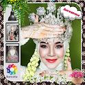 Traditional Wedding Hijab Vintage icon