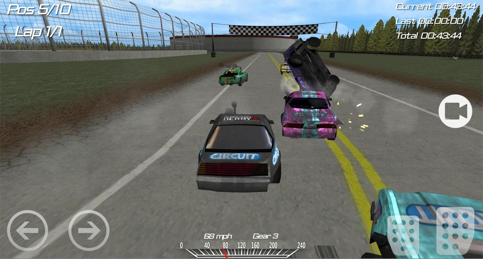 Screenshots of Demolition Derby 2 for iPhone