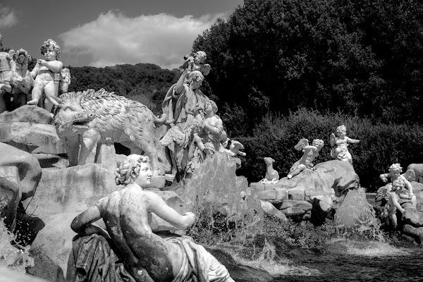 La fontana di ghiaccio di Pasquale Russo