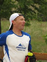 Photo: 1st Annual Quad Rock 50-mile winner Ryan Burch.