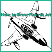 How to Draw Plane and Jet