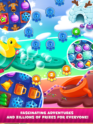 christmas sweeper 3 android app screenshot