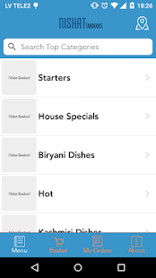 Nishat Tandoori Ordering App- screenshot thumbnail