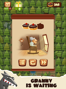 Bring me Cakes - Little Red Riding Hood Puzzle- screenshot thumbnail