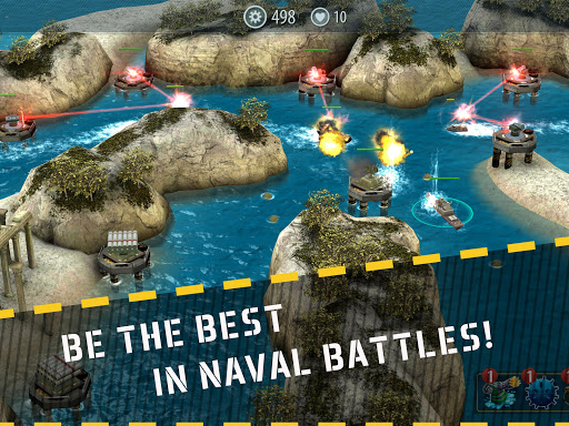Naval Rush: Sea Defense  screenshots 6
