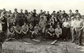 Photo: Leading Diver tests, Killary, full group