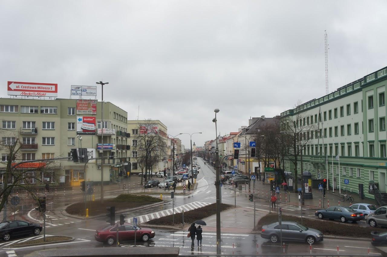 Белосток. Три дня в насквозь промокшем городе