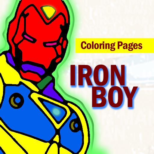Super Avenger Ironboy Coloring