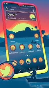 Sunrise Painting Theme Launcher 1.1