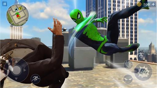 Spider Rope Hero: Ninja Gangster Crime Vegas City  screenshots 2