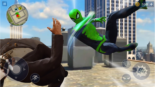 Spider Rope Hero: Ninja Gangster Crime Vegas City 2