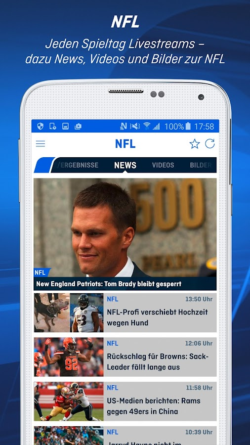 ran | Bundesliga & NFL News- screenshot