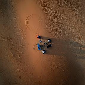 Desert Kings by Souhayl Bk - Landscapes Deserts ( sand, dunes, desert, camping, empty quarter, abu dhabi, astronomy )