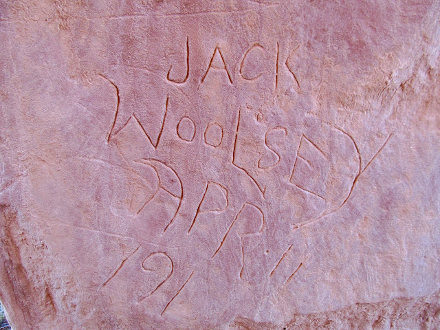 Jack Woolsey, April 11, 191?