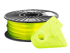 Translucent Neon Yellow PRO Series PLA Filament - 2.85mm (1kg)