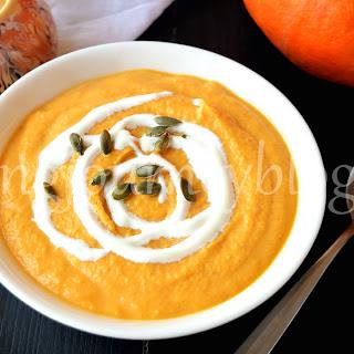 Pumpkin Curry Soup.
